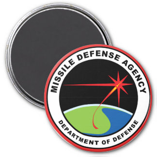 Missile Defense Agency 3 Inch Round Magnet