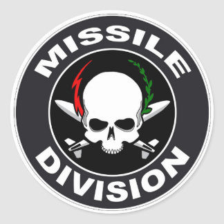 Missile Division Stickers