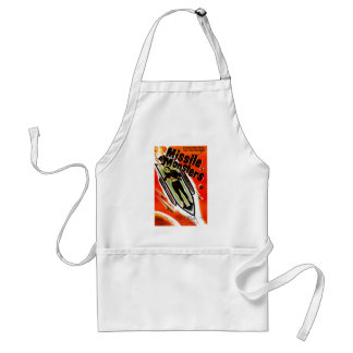Missile Monsters Adult Apron