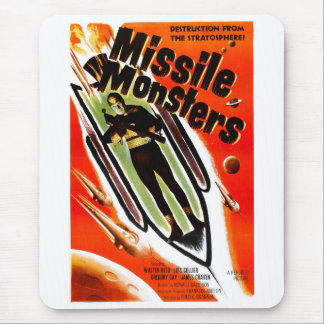 Missile Monsters Mouse Pad