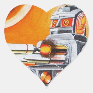 MISSILE ROBOT HEART STICKER
