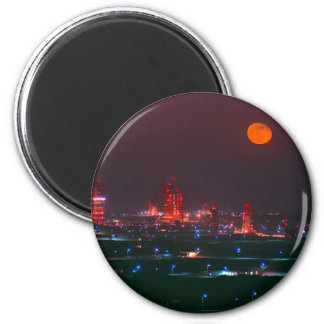 Missile Row 2 Inch Round Magnet