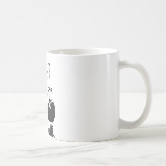 Missiles over factory coffee mug