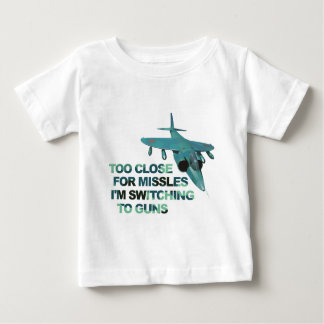 Missiles Switch Guns Baby T-Shirt