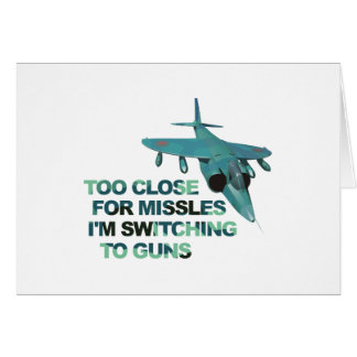 Missiles Switch Guns Card