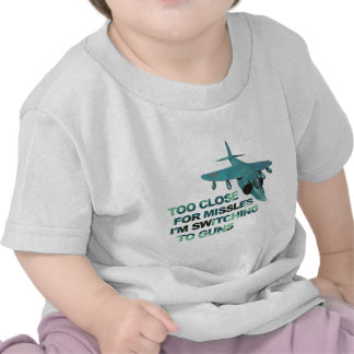 Missiles Switch Guns Tee Shirt