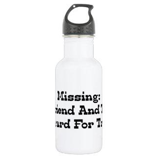 Missing Boyfriend And Truck Reward For Truck Stainless Steel Water Bottle