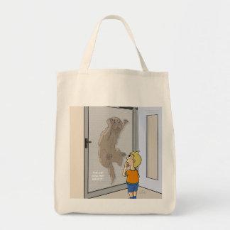 Missing Cat Bag Canvas Bag