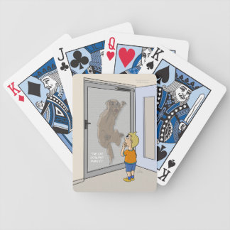Missing Cat Playing Cards