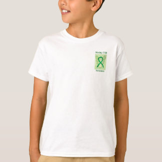 Missing Child Awareness Green Ribbon Angel Tee