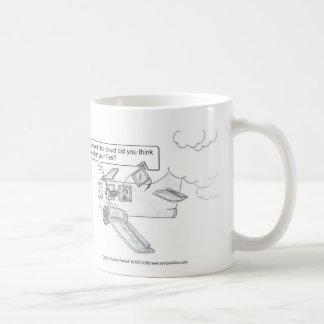 Missing Cloud Files Classic White Coffee Mug