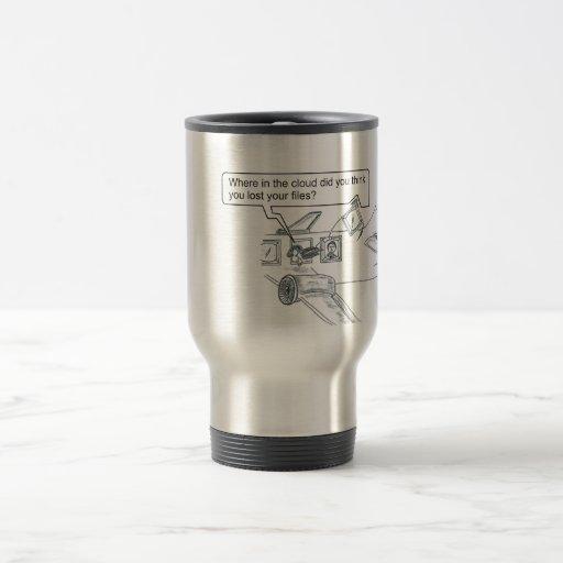 Missing Cloud Files Coffee Mugs