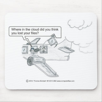 Missing Cloud Files Mouse Pad