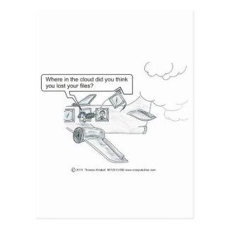 Missing Cloud Files Postcard