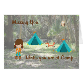Missing Daughter Card while at Summer Camp