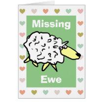 Missing Ewe Pun