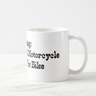 Missing Girlfriend And Motorcycle Reward For Bike Coffee Mug