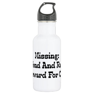 Missing Girlfriend And Race Car Reward For Car Stainless Steel Water Bottle