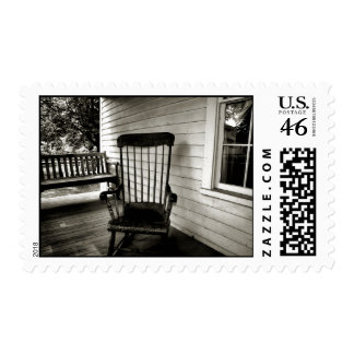 Missing Grandpa Postage Stamps