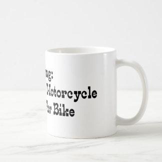 Missing Husband And Motorcycle Reward For Bike Coffee Mug