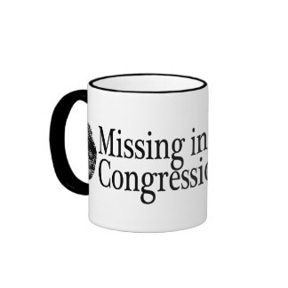 Missing in Action: Congressional Ethics Ringer Mug