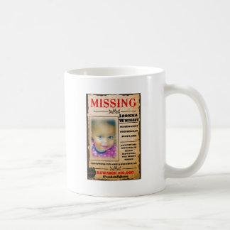 Missing Leonna Wright Coffee Mug