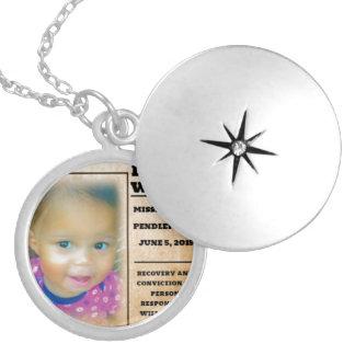 Missing Leonna Wright Locket Necklace