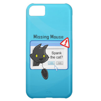 Missing Mouse Spank the cat iPhone 5C Covers