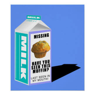 MISSING MUFFIN POSTER