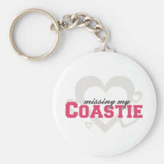 Missing My Coastie Basic Round Button Keychain