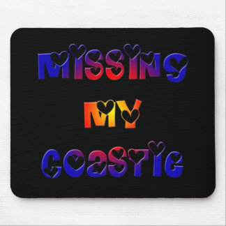 Missing My Coastie Mouse Pad