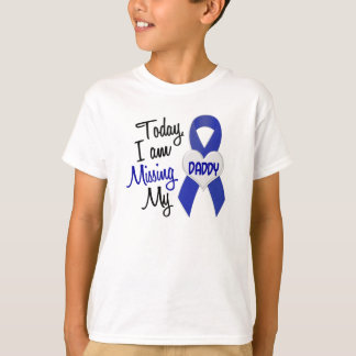 Missing My Daddy 1 (Blue Ribbon) T-Shirt