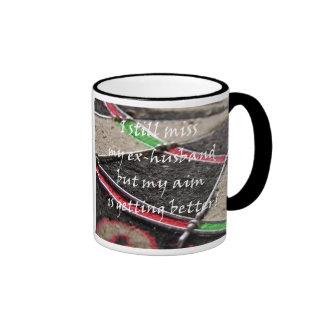 Missing My Ex Ringer Coffee Mug
