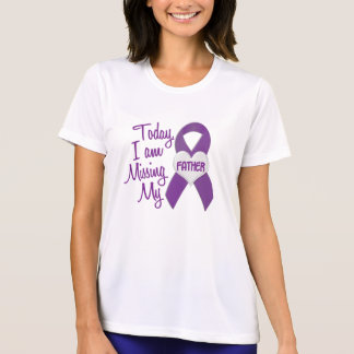 Missing My Father 1 (Purple Ribbon) T-shirt