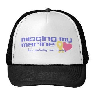 Missing My Marine Trucker Hat