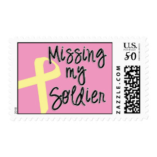 Missing My Soldier Stamps