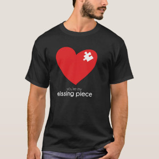 Missing Piece of my Heart Clothing T-Shirt