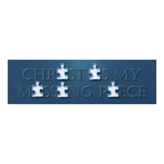 Missing Piece Religious Panel Wall Art