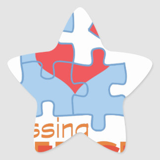 Missing Piece Star Sticker