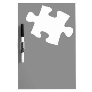 Missing Puzzle Piece Dry Erase Board