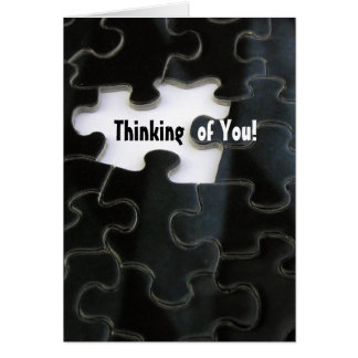 Missing Puzzle Piece Greeting Card