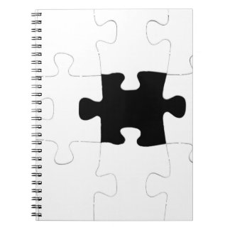 Missing Puzzle Piece Notebook
