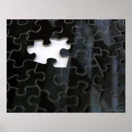 Missing Puzzle Piece Print
