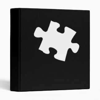 """Missing Puzzle Pieces 1"""" Photo Album Binder"""