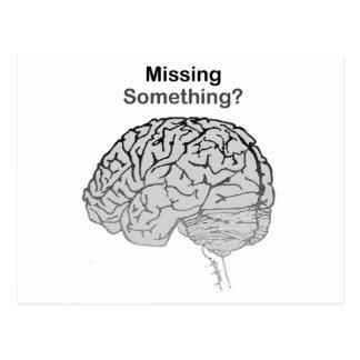 Missing Something? Postcard
