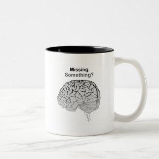 Missing Something? Two-Tone Coffee Mug