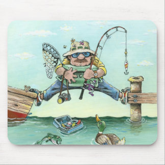 Missing The Boat Mouse Pad