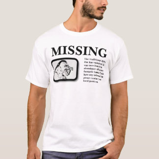 Missing, The Traditional Orc T-Shirt