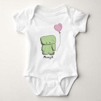Missing U Baby Baby Bodysuit