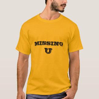 MISSING, U T-Shirt